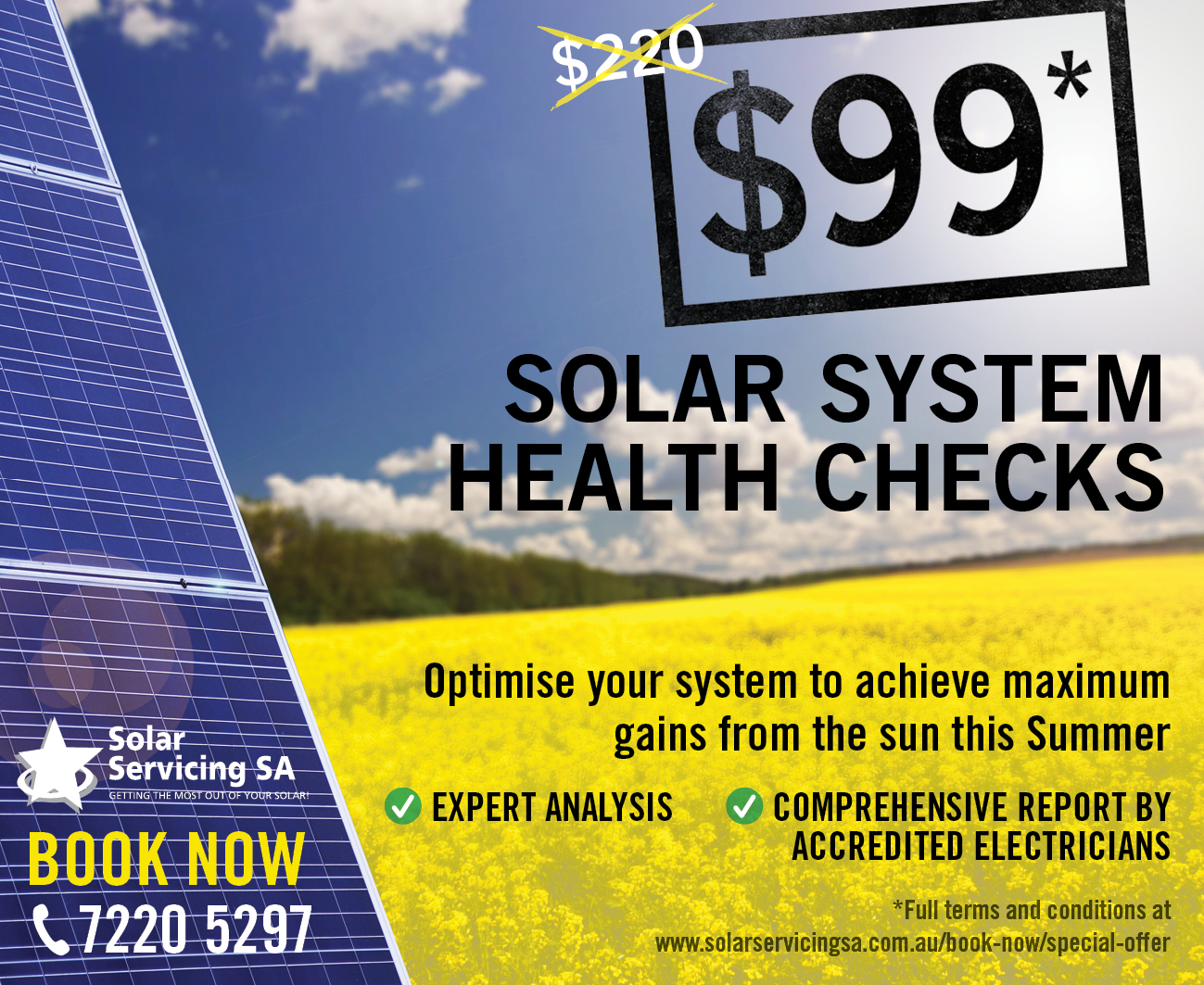 Solar Panel System Service Adelaide Solar Servicing Sa